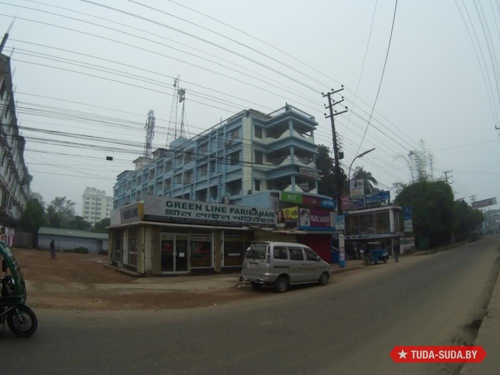 Green Line Paribahan Cox's Bazar